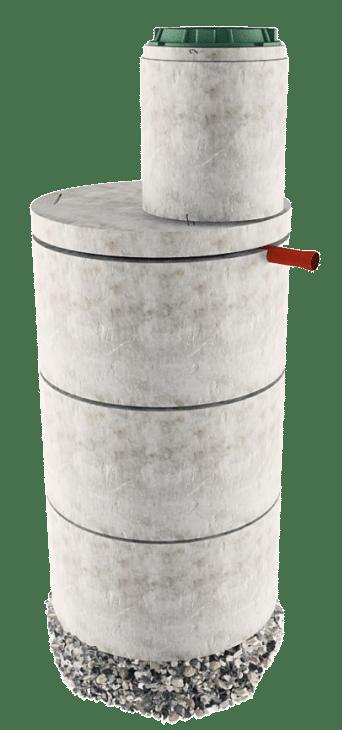 Септик из бетонных колец в Щелковском районе